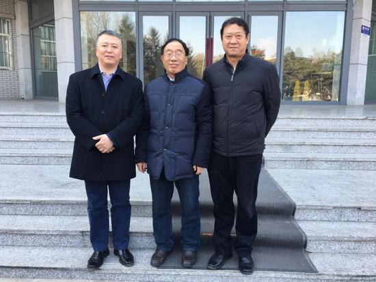 王博院长陪同陈志会长访问吉林大学图片
